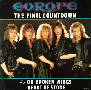 "Europe - The Final Countdown (12"") (EX/G-VG)"